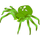 download Rodney The Spider clipart image with 45 hue color