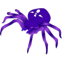 download Rodney The Spider clipart image with 225 hue color