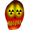 Skull And Nuclear Warning