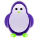 download Penguin clipart image with 45 hue color