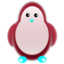 download Penguin clipart image with 135 hue color
