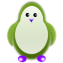 download Penguin clipart image with 225 hue color