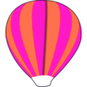download Hot Air Balloon Work In Progress clipart image with 315 hue color