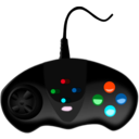 download Gamepad clipart image with 135 hue color