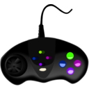 download Gamepad clipart image with 225 hue color