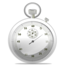 download Stop Watch Icon clipart image with 225 hue color