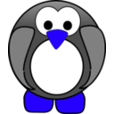 download Pinguin Zippo Project clipart image with 225 hue color