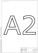 Eskd Paper Format A2 Vertical