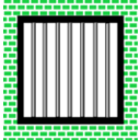 download Jail Bars clipart image with 135 hue color