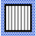 download Jail Bars clipart image with 225 hue color