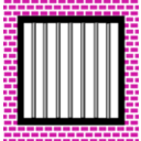 download Jail Bars clipart image with 315 hue color