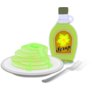 download Pancakes clipart image with 45 hue color