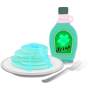 download Pancakes clipart image with 135 hue color
