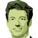 download Rand Paul clipart image with 45 hue color