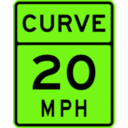 download Curve Speed 20 clipart image with 45 hue color