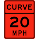 download Curve Speed 20 clipart image with 315 hue color