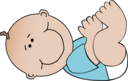 Baby Boy Lying