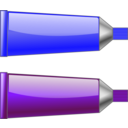 Color Tube Blue Purple