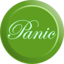 download Elegant Panic Button clipart image with 90 hue color