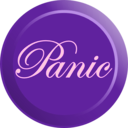 download Elegant Panic Button clipart image with 270 hue color