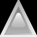 Led Triangular Grey
