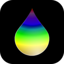 download Rainbow Drop clipart image with 45 hue color