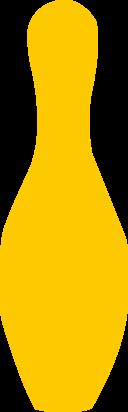 Bowling Pin Yellow