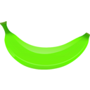 download Banana clipart image with 45 hue color