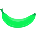 download Banana clipart image with 90 hue color