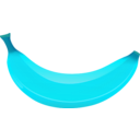 download Banana clipart image with 135 hue color