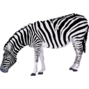 download Zebra clipart image with 225 hue color