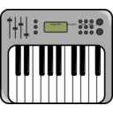 download Synth clipart image with 315 hue color