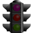 download Traffic Lights Turned Off clipart image with 315 hue color