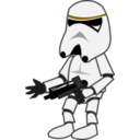 download Comic Characters Stormtrooper clipart image with 45 hue color