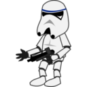 download Comic Characters Stormtrooper clipart image with 225 hue color