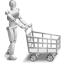 download Roboshopper clipart image with 135 hue color