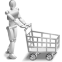 download Roboshopper clipart image with 225 hue color