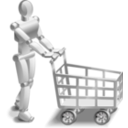 download Roboshopper clipart image with 315 hue color