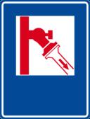 Fireplug Sign