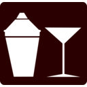Cocktail Icon Martini Icon