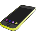 download Iphone clipart image with 225 hue color
