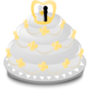 download Wedding Icon clipart image with 45 hue color