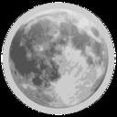 Weather Icon Full Moon