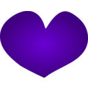 download Cuore Heart clipart image with 270 hue color