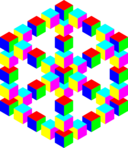Impossible Hexagon Cube
