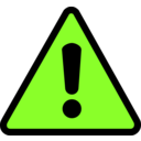 download Warning Icon clipart image with 45 hue color