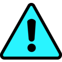 download Warning Icon clipart image with 135 hue color