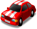Little Red Racing Car