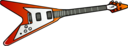 Flying V Guitar