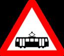 Roadsign Tram